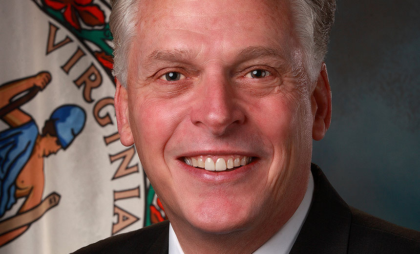 VA Gov. McAuliffe on Cybersecurity