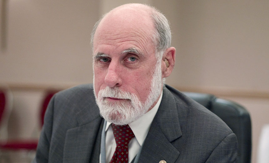 Vint Cerf's Outlook for the Internet He Helped Create